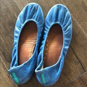 Tieks blue sz 6